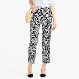 J. CREW Collection Patio Pant in Dalmatian Print